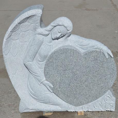 Gravsten Ängel PG 6