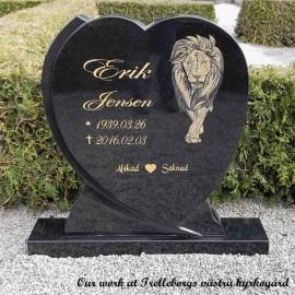 Gravsten Hjärta 22 ( gravstenar Trelleborgs västra kyrkogård )