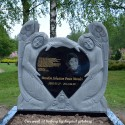 Gravsten Ängel PG 16 M (  gravsten på  kviberg kyrkogården )