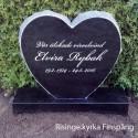 Gravsten Hjärta 201 s ( Risinge kyrka Finspång norrköping )